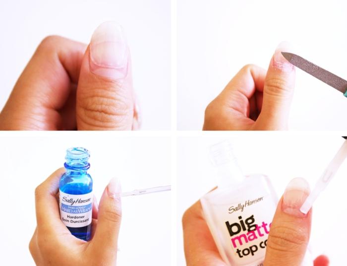 étapes à suivre pour rallonger ses ongles courts en utilisant des capsules en gel et produit liquide de fixation